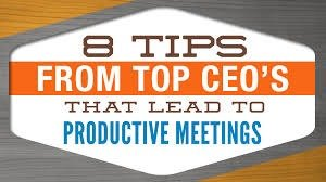 lead effective meetings How to conduct effective meetings running an effective meeting is crucial to the  function of any company or organization it presents an  lead the meeting.