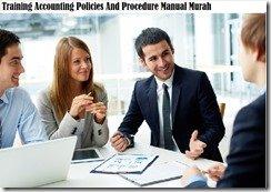 training kebijakan akuntansi dan manual prosedur murah