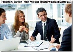 training komponen budget komprehensive murah