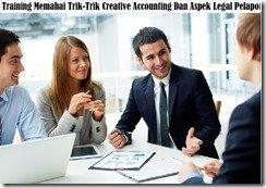 training teknik menaikkan laba & memoles rasio-rasio laporan keuangan perusahaan murah