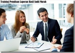 training penulisan laporan audit murah