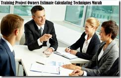 training pemilik proyek estimate menghitung teknik murah