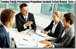 training organisasi penanganan pengaduan / complain nasabah murah
