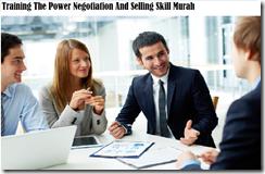 training the power negosiasi dan menjual keterampilan murah