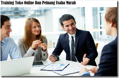 training onlineshop murah